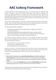 media jacana school for autism aac iceberg framework pdf 1