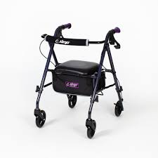 Ultra Light Rollator Airgo Ultra Light Rollator Eggplant