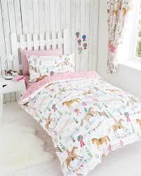 33 sensational design ideas girl duvet covers girls duvet sets horse riding pony show quilt cover bedding full twin canada nz