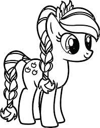 Coloring Pages My Little Pony Coloring Pages Printable Print Baby