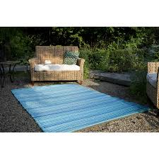 fab habitat woven from recycled plastic indoor outdoor coastal area rug common 5