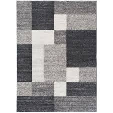 astonishing non slip area rugs modern boxes design skid gray rug 8 ft x 10