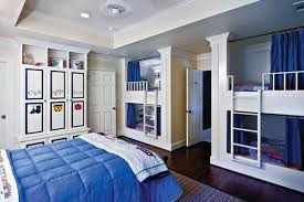 boys double bed. Simple Boys 36 DOUBLE DECKER BEDS WITH THEIR OWN CURTAINS FOR PRIVACY Throughout Boys Double Bed I