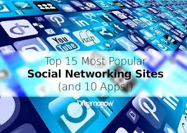 Top 15 Most Popular Social Networking Sites and Apps [June 2017 ...