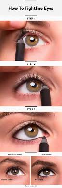 eye makeup cheat sheets that everyone will wish they had years ago how to tightline