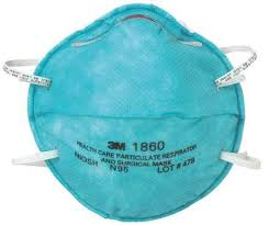 3m N95 Mask Size Chart 3m N95 Disposable Healthcare Respirator Universal Green