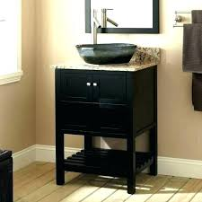 Bathroom Vanity With Bowl Sink Vessel  Sinks Bowls On Top Of O97