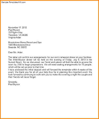 Letterhead Business Letter Business Letter On Letterhead Scrumps