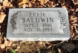 Effie Zella Mullen Baldwin (1886-1983) - Find A Grave Memorial