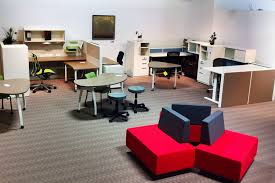 open space office design ideas. Compact Showroom Office Design Ideas With Spacious Layout : Decor Open Space D