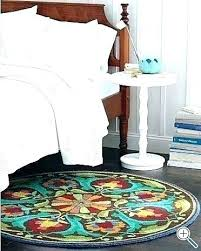 3 ft round rugs 4 foot rug 5 awesome braided