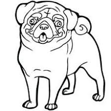 Inspirational Pug Dog Coloring Pages Thebookisonthetableme