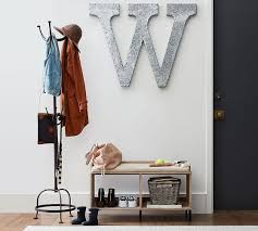 Metal Standing Coat Rack