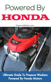 Honda Powered Pressure Washers The Complete Guide