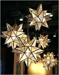 moravian star ceiling light kitchen lights in decor table lamp outdoor pendant a inspire best ideas