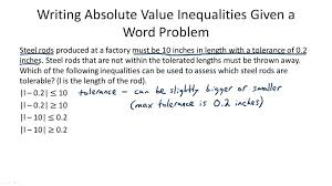 Absolute Value Problems Worksheets for all | Download and Share ...