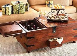 Reclaimed Wood Storage Box Coffee Table Vintage Antique Style Regarding  Elegant Household Coffee Table Storage Remodel