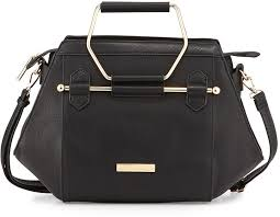 catherine malandrino catherine jennifer hexagon faux leather satchel black catherine malandrino tote black white beige