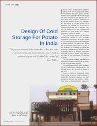 Cold Storage Design Pdf Cold Storage Refrigeration System Pdf At Manuals Library
