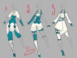 anime girl clothes designs. Exellent Girl Anime Girl Clothes Designs Drawings  Belarusad For O