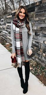 Fantastic long sleeve outfit winter ideas Outfits Casual 100 Awesome Winter Outfits That Always Looks Fantastic Glamour List Of Pinterest Plaid Scarf Outfit Work Long Sleeve Ideas Plaid