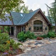 houses with stone accents. Contemporary With Rustic Guest House Stone Exterior And Walkway On Houses With Accents O