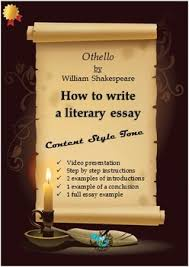 othello by william shakespeare how to write the literary essay  othello by william shakespeare how to write the literary essay