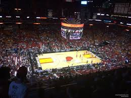 Americanairlines Arena Section 310 Miami Heat