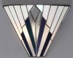 art deco reproduction lighting. astoria tiffany wall light art deco design reproduction lighting