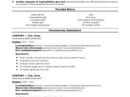 breakupus unusual resume sample construction superintendent resume breakupus outstanding basic resume templates hloomcom alluring traditional and terrific resume templae also fast food