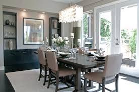 image of swarovski modern dining room chandeliers