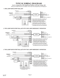 typical wiring diagrams page 4 2lrsb42a ac two lamp rapid start typical wiring diagrams page 4 2lrsb42a ac two lamp rapid start ballast iota i