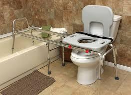 long toilet to tub sliding transfer bench