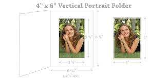 4 by 6 photo size size chart for photo folders frames cards studio style