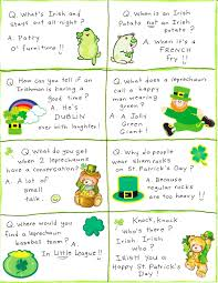St Patrick s Day Lunch Box Jokes FREE Printable Happy Home Fairy