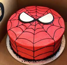 Spiderman Cake 7 Food Drinks Baked Goods On Carousell
