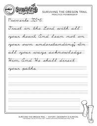 Penmanship Practice Sheet Practicing Penmanship Magdalene Project Org