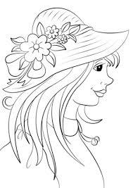 Disegno Di Cappello Estivo Da Colorare Disegni Da Colorare E