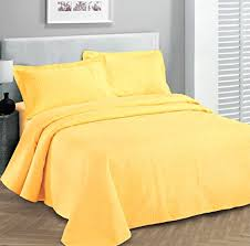 Fancy Collection 3pc Luxury Bedspread Coverlet Embossed Bed Cover ... & Fancy Collection Luxury Bedspread Coverlet Embossed Bed Cover Solid Yellow  New Over Size King/california King – A Luxury Bed – Silk Sheets Bedspreads  Luxury ... Adamdwight.com