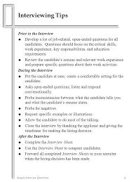 Sample Resume Questions Sample Interview Questions ppt download 53