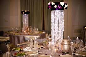 table top chandelier lampshades are a new trend that we absolutely love seeing use our white table top chandelier