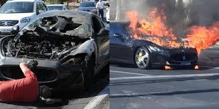2018 maserati mc stradale.  maserati maserati granturismo mc stradale bursts into flames in australia throughout 2018 maserati mc stradale