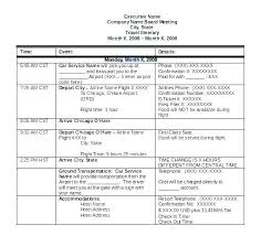 Travel Itinerary Template Google Docs Ceansin Me