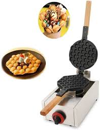 The batter is sweet, resembling a pancake batter. Amazon Com Hanchen Gas Hong Kong Egg Waffle Maker Commercial Egg Bubble Waffle Iron Non Stick Eggettes Iron Pan Making Plates For Bakery Home And Kitchen Restaurant Shopping Mall Snack Bar With Ce Certificate Cake