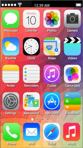 Fake IPhone 5S launcher Android App APK (com.gravitylabs.fakeiphone5s) by  Gravity Labs - Download on PHONEKY