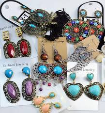free top quality fashion vintage crystal chandelier earrings exaggerated long section jewelry earrings mix whole