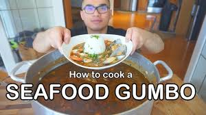 How to cook a SEAFOOD GUMBO - YouTube