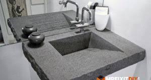 diy concrete sink. Perfect Diy DIY Concrete Sink To Diy D