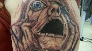 страшные татуировки которые когда либо были