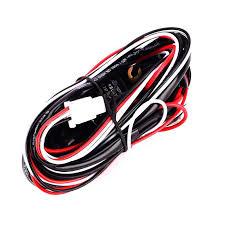 iztoss off road led light bar on off power switch 40 amp relay www amzn orders at Light Bar Wiring Harness Bulk